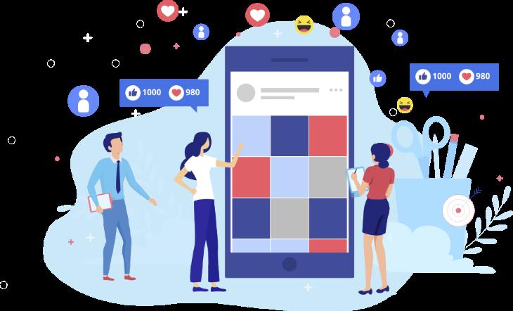 redes sociales para clínica dental