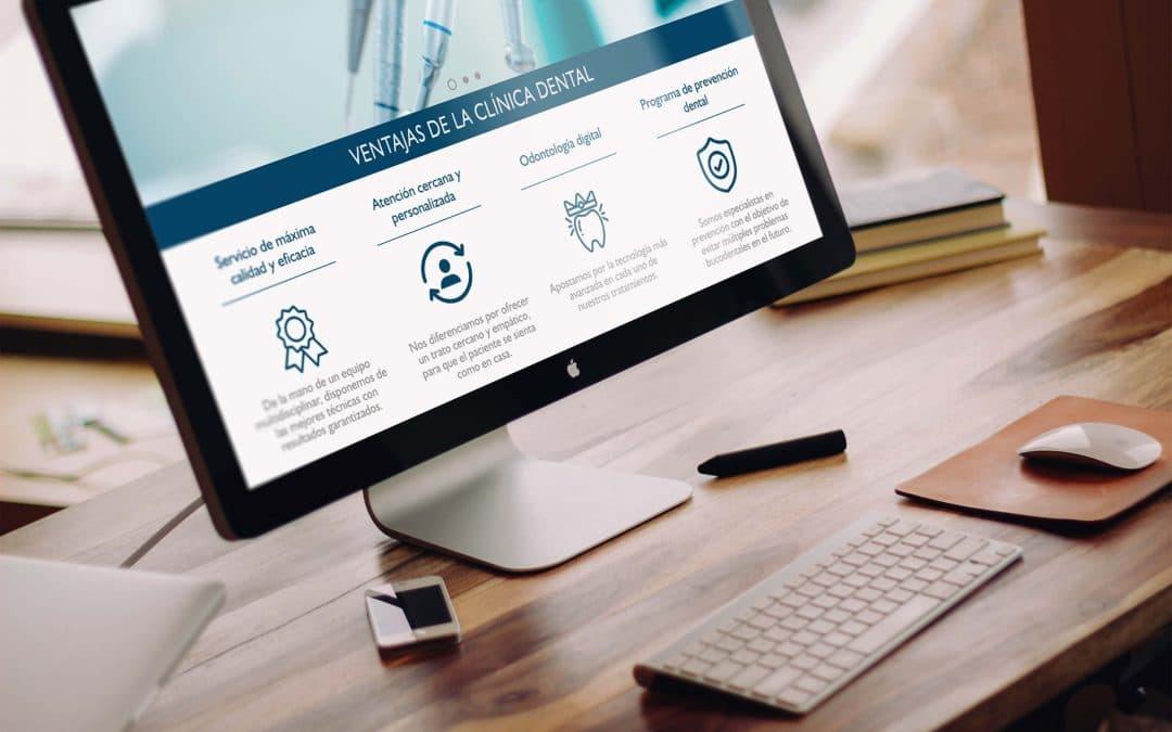 ¿Para qué sirve una página web para dentistas?