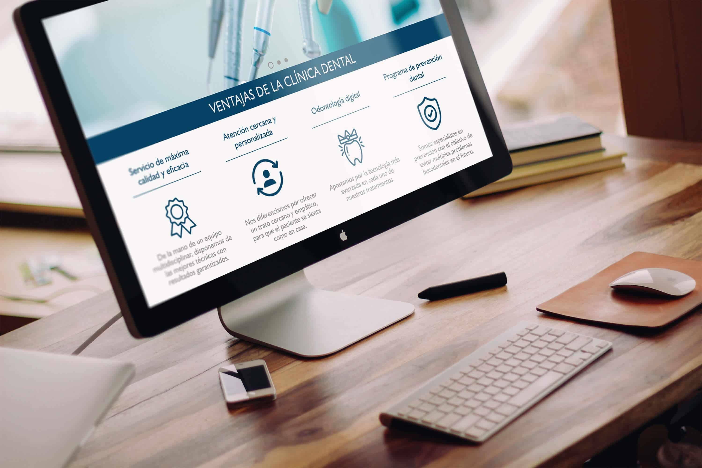 Ventajas de una página web para dentistas