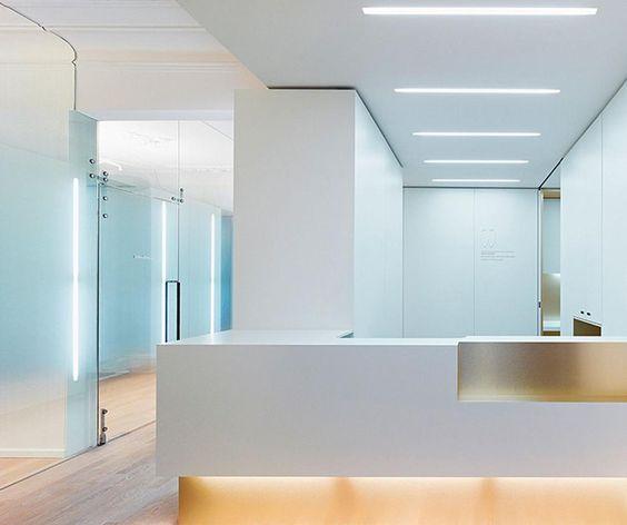 Interiorismo para clínicas dentales: luces led